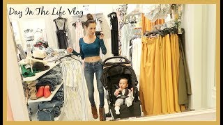 I'M SO TIRED! DAY IN THE LIFE VLOG || SINGLE MOM OF ONE BABY GIRL || CHANELLE ANGELINA & HARLOW