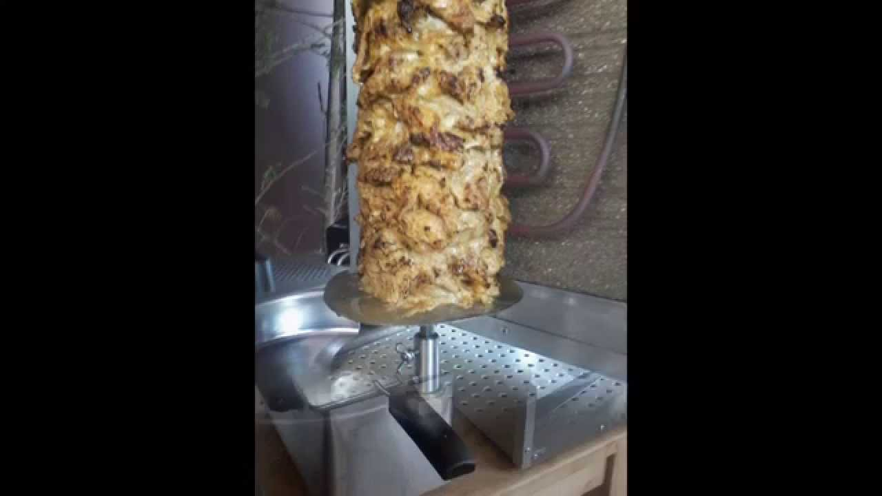 Astuce fabrication pour une machine kebab youtube for Fabrication charbon de bois