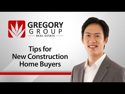 Austin Real Estate - Gregory Group: Tips for new construction home buyers