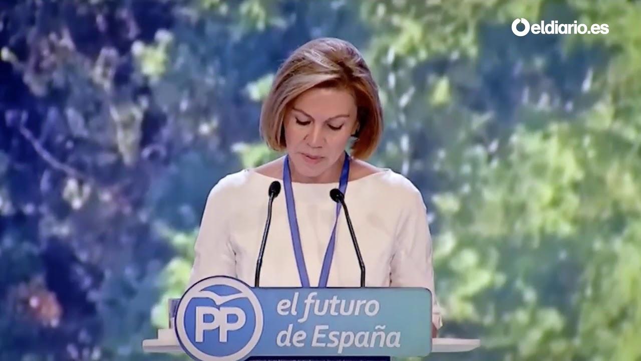 María Dolores de Cospedal se acuerda de Rita Barberá en su