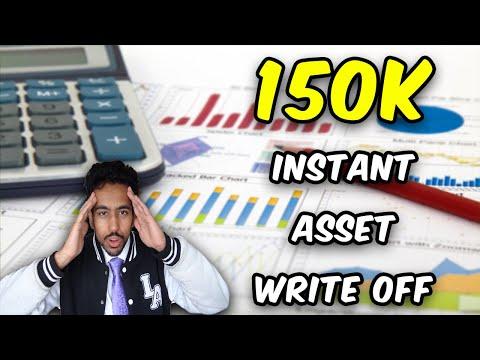 Instant Asset Write Off Explained (150k TAX deductions June 2020)