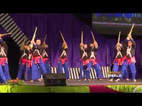 HMONGWORLD: HMONG HEROES (1st Place) DANCE ROUND 2 & INETRVIEW (DANCING WITH HMONG QEEJ - LUSHENG)
