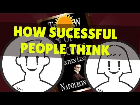 How Successful People Think | The Law of Success Animation Notes
