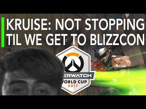 Overwatch Gameplay - Kruise Genji : Not Stopping Til Blizzcon - UK VS Chinese Taipei   World Cup