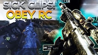 BEST Obey RC Trickshots from Subs! BO2 & MW2 Trickshot & Sniper Montage! (COD Montage)