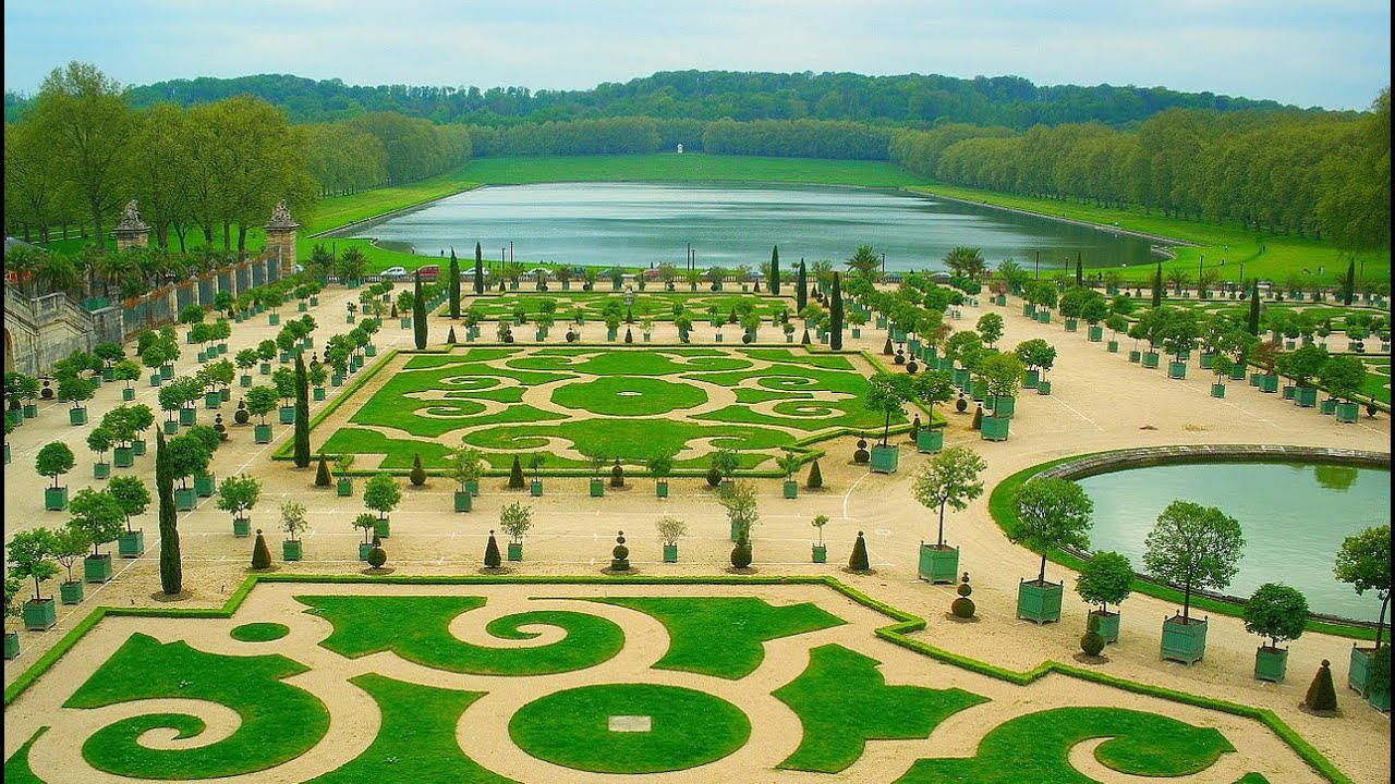 Beautiful Gardens french potagerlisa hubbard such a beautiful garden love the fence Most Beautiful Gardens In The World Gardens Of Versailles France Youtube