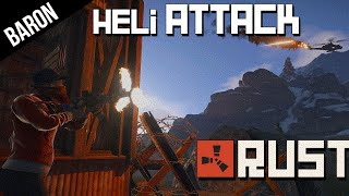 Attack Helicopter Raid on the Ghetto - Rust Multiplayer Part 1