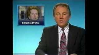 Thatcher Resigns - Six O'clock News 22.11.1990