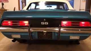 1969 Camaro RS/SS 396 L78 Hideaway Headlights www.NationalMuscleCars.com