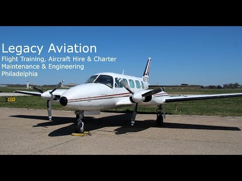 Legacy Aviation Flight Training, Aircraft Hire & Charter, Maintenance & Engineering Philadelphia