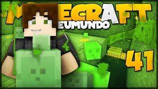 FARM DE SLIME (PARTE 2) // Meu Mundo #41 // Minecraft