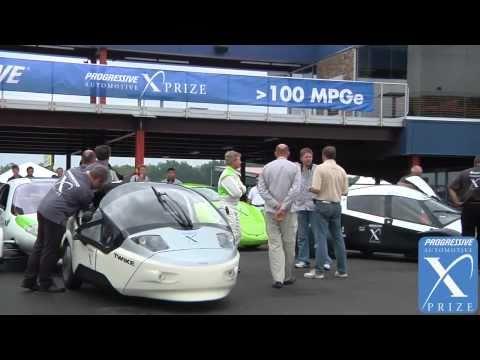 Professional Drivers - Progressive Insurance Automotive X PRIZE