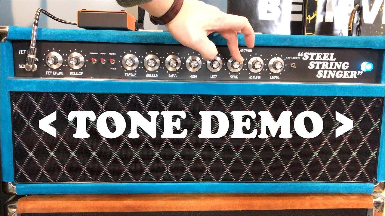 Tone Demo | Dumble Steel String Singer #004 Clone w/ 2x JBL D131