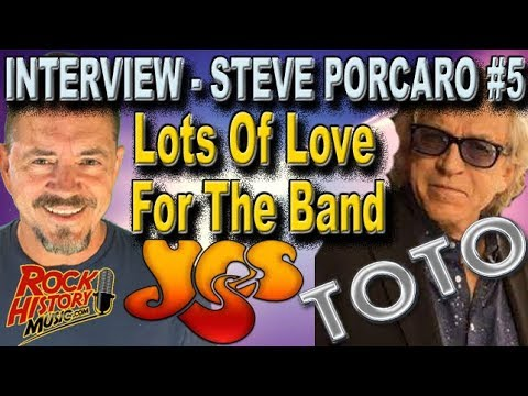 Toto's Steve Porcaro On His Love For Yes