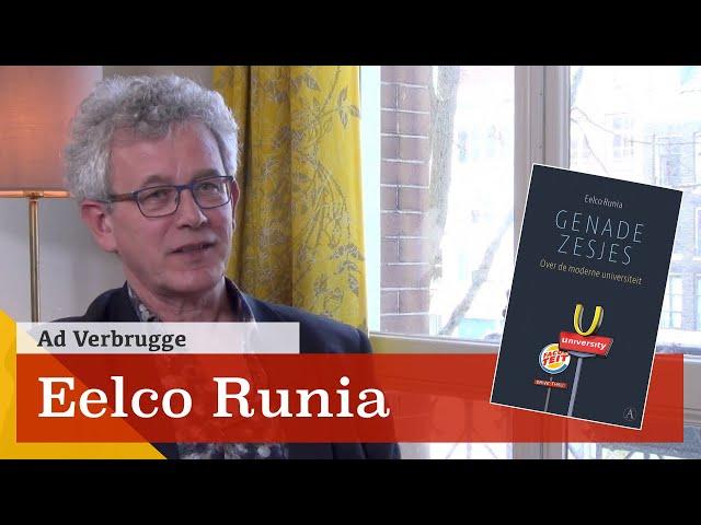 Eelco Runia: 'Marktdenken betekent de ondergang van de universiteit'