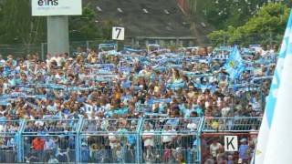 Himmelblaue NeujahrsGrüße Chemnitzer FC