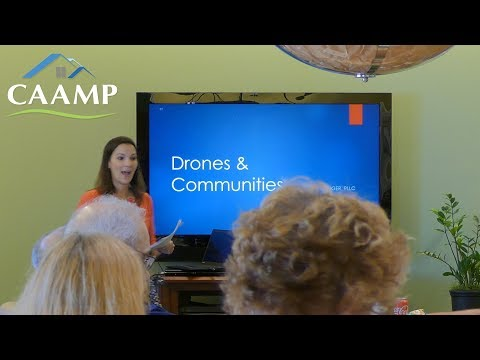 Ups and Downs of Drones and Community Associations - Sonia Bosinger Mark Kramer