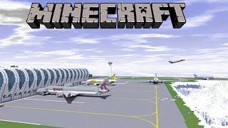 Minecraft Creations: Airport Showcase and Airplanes - Minecraft Creations Brothers