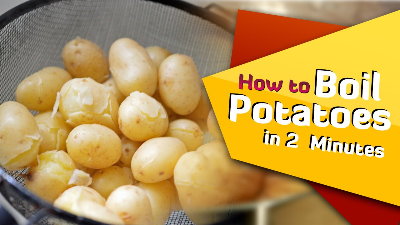 how to make boil potato