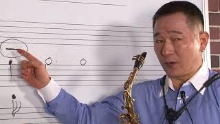 [신현길 색소폰 기초] 6강 입으로 말하는 소리와 악기에서 나오는 소리의 이해관계