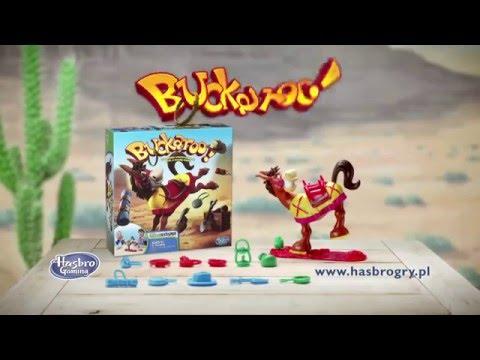 Hasbro Games - Elefun & Friends - Buckaroo - Gra Zręcznościowa - 48380 - PL