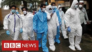 India facing coronavirus crisis with healthcare facilities under huge pressure - BBC News