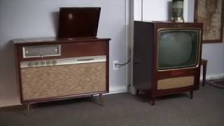 1958 RCA Stereo Orthophonic Console SHC-6 with Matching Speaker