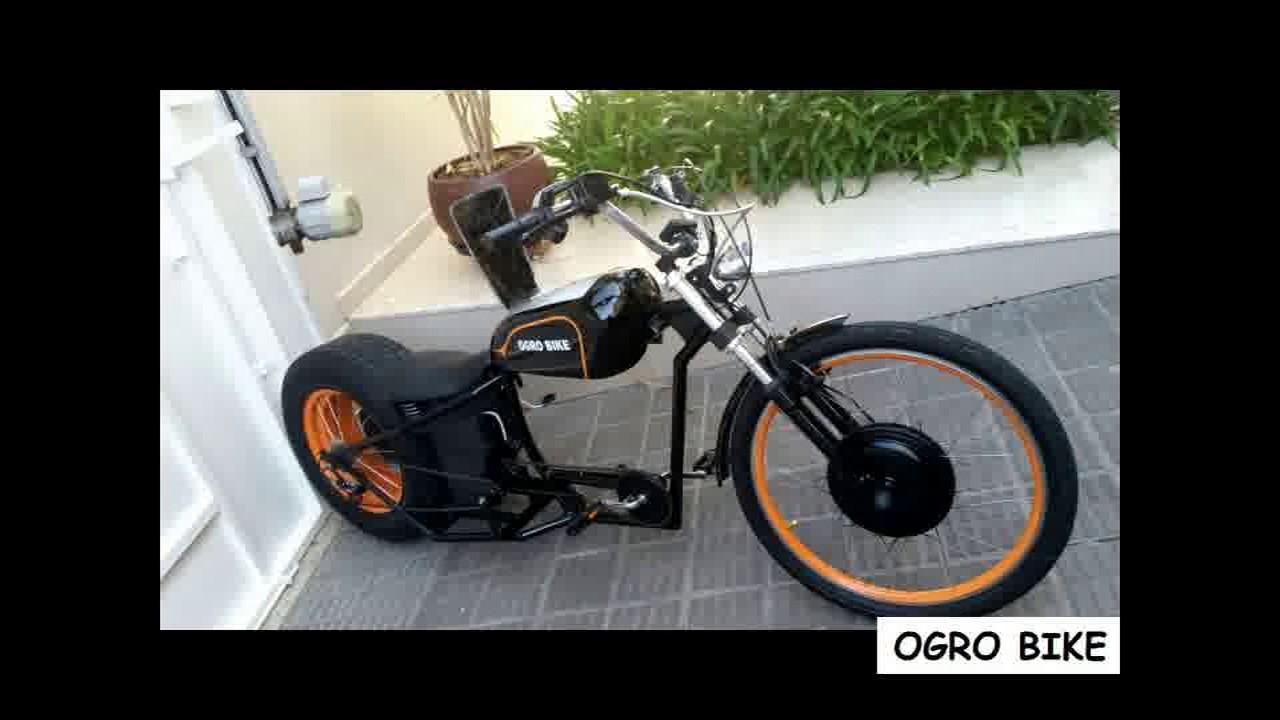 bike chopper el trica youtube. Black Bedroom Furniture Sets. Home Design Ideas