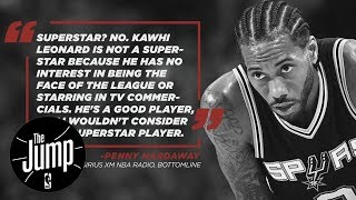Penny Hardaway Says Kawhi Leonard Is Not A Superstar | The Jump | ESPN