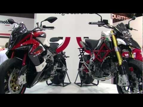 RawFile; 2012 Bimota DB10 BiMoTard and DB9 Brivido at EICMA stand