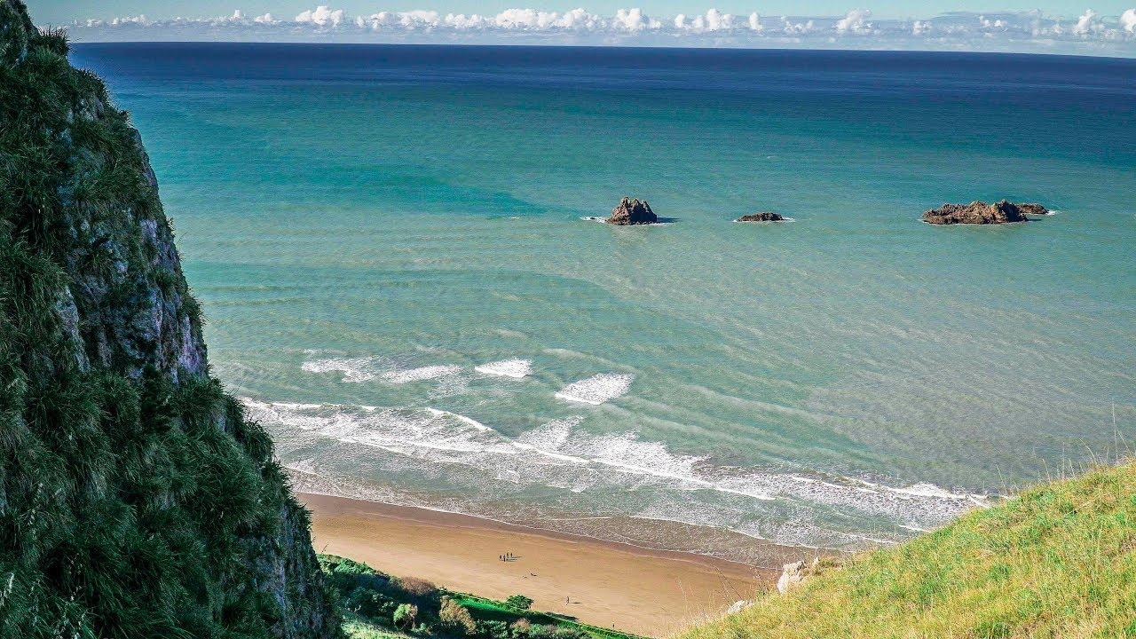 Магический пляж Каиракау | Жизнь в Новой Зеландии