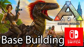 Ark Survival Evolved Switch Gameplay Base Building, Flying & Spawn Taming