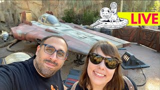 Live From Star Wars Galaxy's Edge!