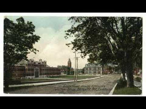 Belleville Ontario in olden days with postcards