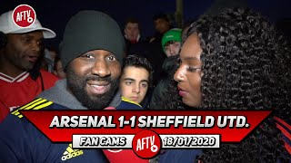 Arsenal 1-1 Sheffield Utd.   Martinelli Keeps Making An Impact But We Need More From Lacazette!