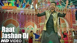 Raat Jashan Di Video Song | Raja  Abroadiya | Jazim Sharma