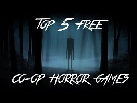 TOP 5 FREE CO-OP HORROR GAMES! (STEAM)