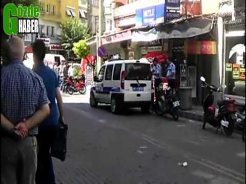 Polis Vatandaşın Hayatını Ateş Ederek Kurtardı