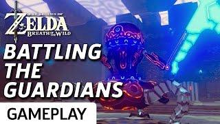 Taking Down Guardians In Zelda: Breath Of The Wild