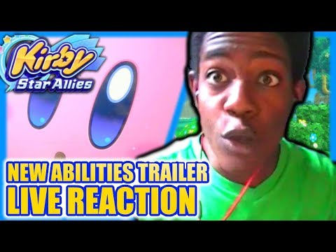 Download Youtube: Kirby: Star Allies New Abilities Trailer - LIVE REACTION!!!