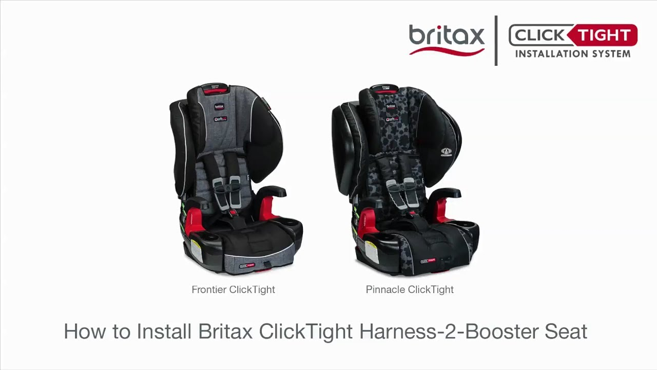 How To Install A Britax ClickTight Harness 2 Booster Car Seat