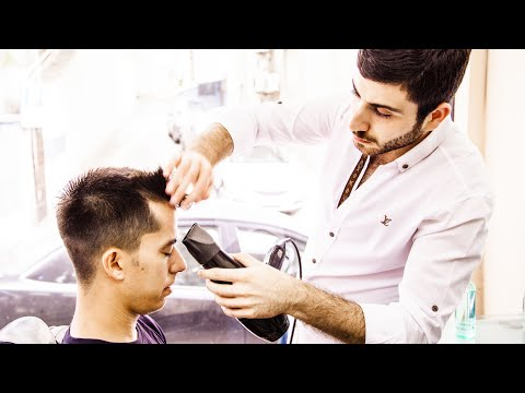 The Turkish Barber Shave & Haircut (Taksim, Istanbul)