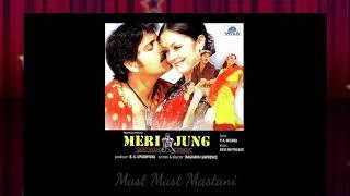 Mast Mast Mastani Full Song || Meri Jung One Man Army || Nagarjuna, Jyothika || Vinod Rathod