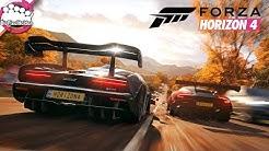 FORZA HORIZON 4 - Die ERSTE Stunde des Spiels - kommentiertes Gameplay, Intro, Tuning, Autobahn, uvm
