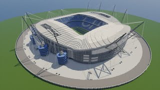 Minecraft - TIMELAPSE - Etihad Stadium (Manchester City) [Official] + DOWNLOAD