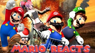 Eat My Mario Pingas | Mario Reacts To SMG4: The Mario Channel - Mario's Jackass
