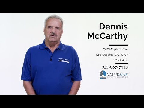Dennis McCarthy Value Max Quality Builders