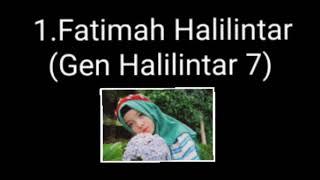 Gambar cover Urutan suara terbagus GEN HALILINTAR deen assalam