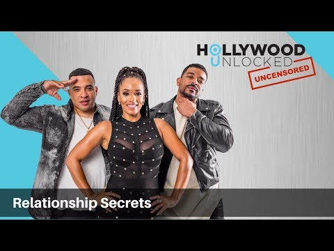 Talking Relationship Secrets on Hollywood Unlocked [UNCENSORED]