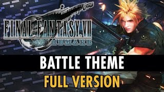 Final Fantasy VII Remake OST - Battle Theme [Extended by Film Composer]